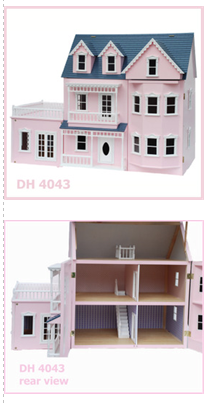 Pink Conservatory Dollhouse $550.00