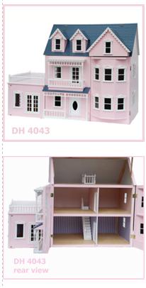 Pink Conservatory Dollhouse $550.00