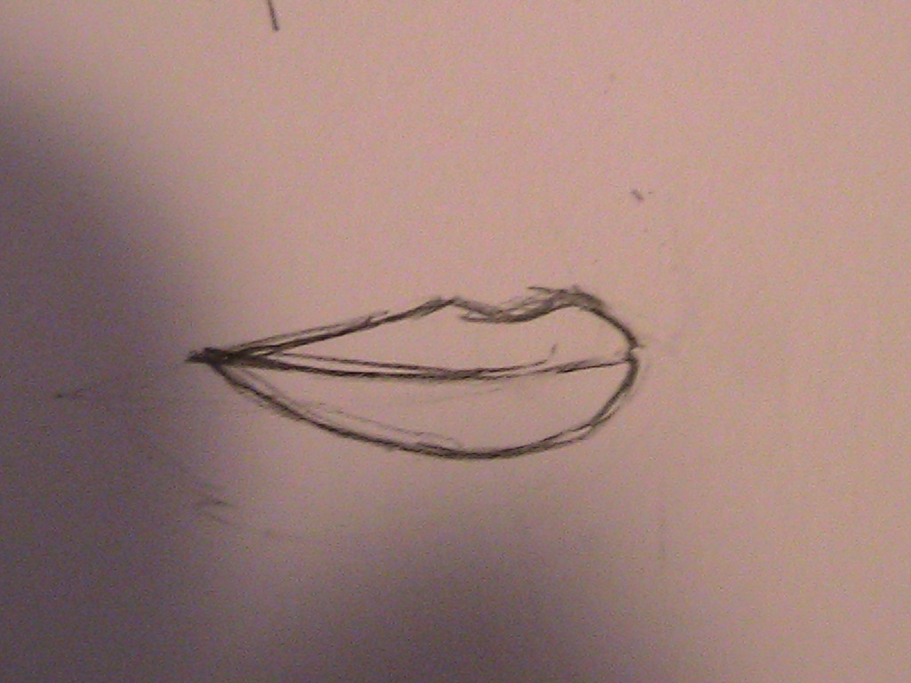 Simple mouth drawing