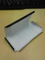Apple iPhoneペーパークラフトを組み立てるの巻。