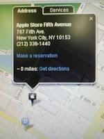 アップルのサイトにある販売店検索地図に惚れた。