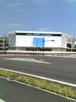 大相模調整池付近のイオンレイクタウンのKAZEエリア北側。