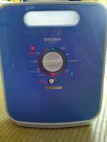 三菱電機の布団乾燥機AD-R70LSを購入。
