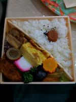 越谷市こしがや産業フェスタの2日目のお弁当。