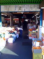 越谷市総合食品地方卸売市場へ正月の買い出し。
