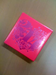 会社でもらったバレンタインチョコレート