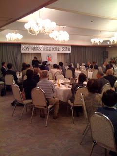 平成21年度の越谷市国際交流協会祝賀会・交流会開催
