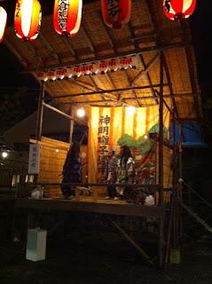 越ヶ谷浅間神社の奉納太々神楽