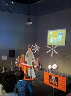 日本科学未来館常設展示のメディアラボ