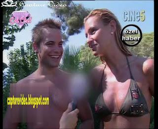 Pınar Altug bikinili