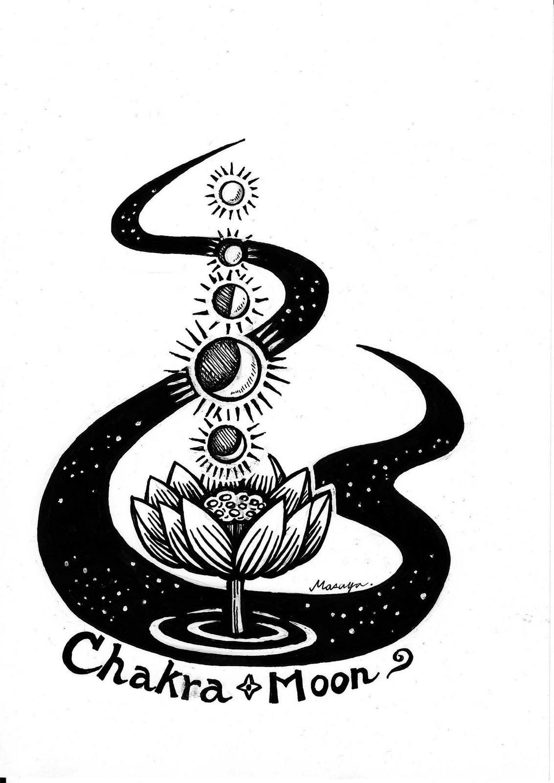 Chakra-moonのシンボルマーク