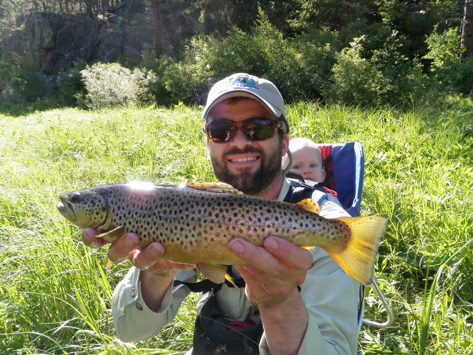 Black hills fly fishing favorite fish to catch on the fly for Fly fishing south dakota