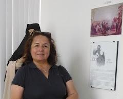 En el Museo del Mirador San Cristóbal (Lima)