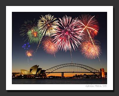 happy new year sydney Australia