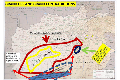 GRAND LIES AND CONTRADICTIONS  ABOUT AFGHANISTAN