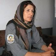 MAJOR MALALAI KAKAR A KHALQI POLICE OFFICER