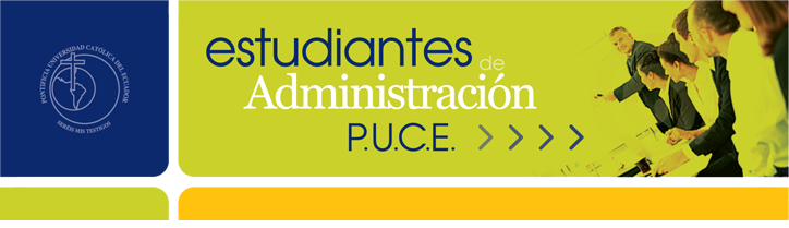 ESTUDIANTES DE ADMINISTRACIÓN PUCE