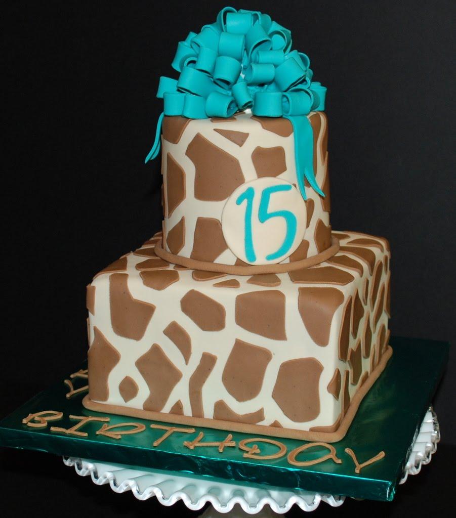 Cake Designs Giraffe : Giraffe Birthday Cake Cake Ideas and Designs