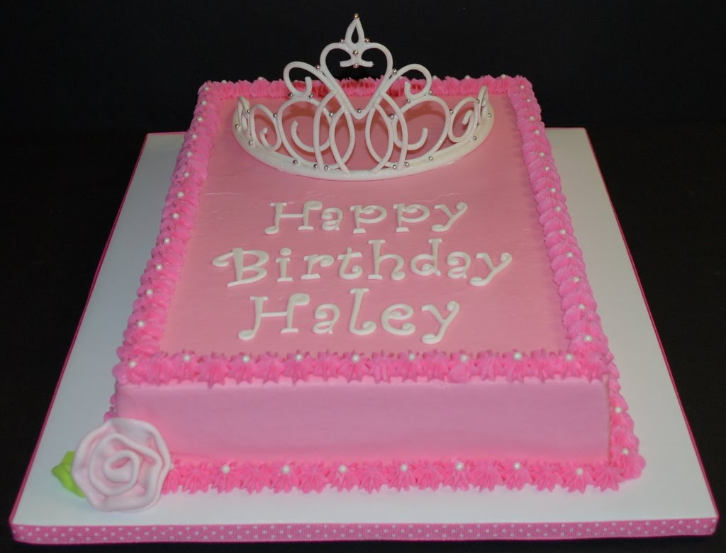 The Bakery Next Door Princess Birthday Cake
