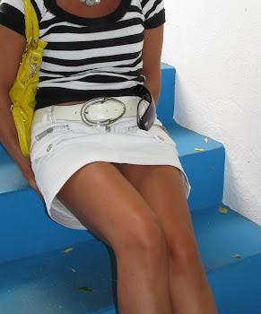Una pennellata di bianco e di blu