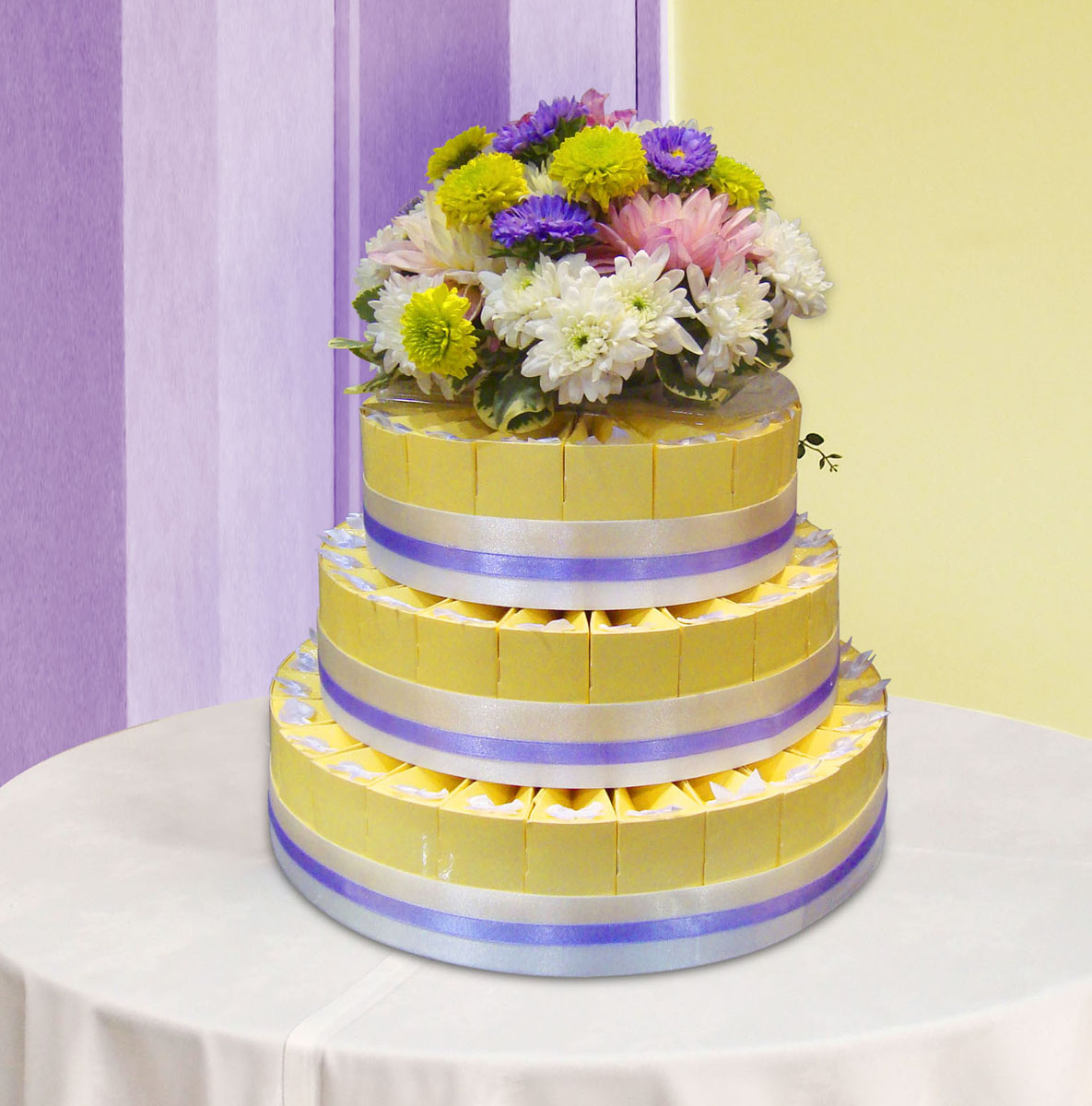 Party Olala: REAL FLOWER CAKE TOPPERS!