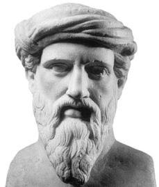 Pitágoras, filósofo y matemático griego.