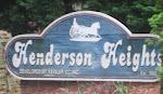 Henderson Heights Neighborhood