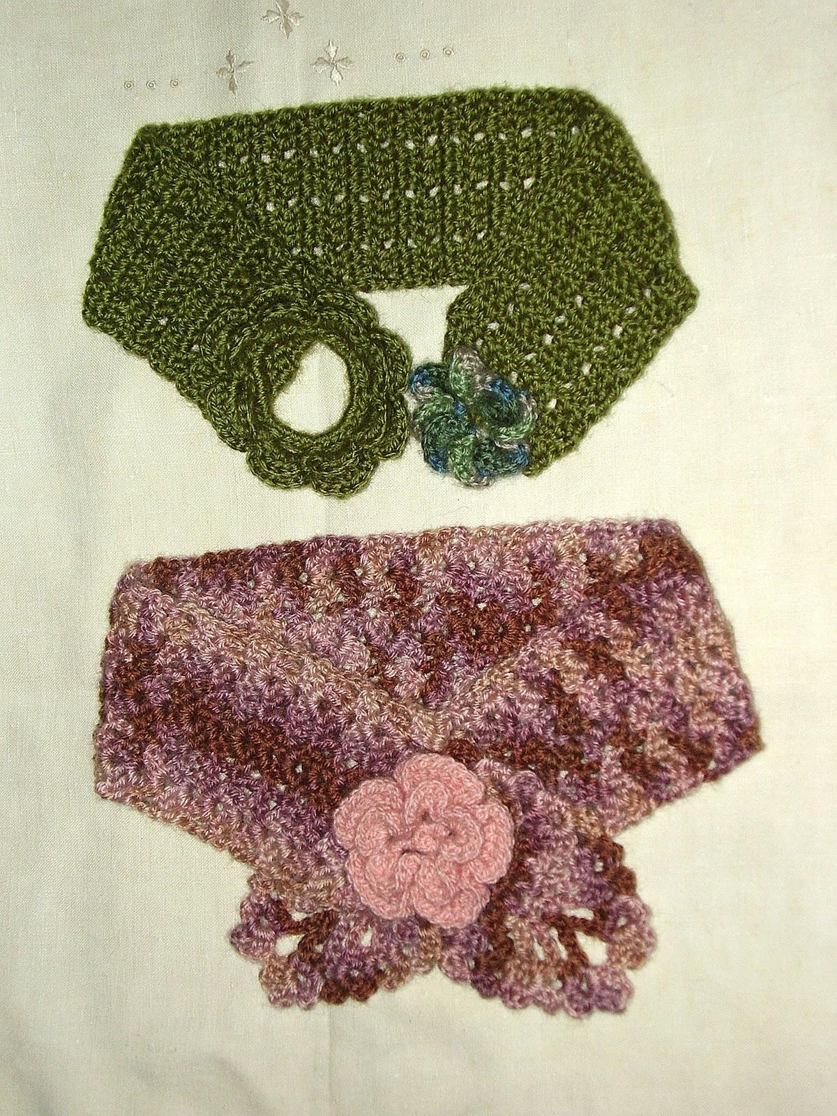 los que también voy a presentar , están hechos en crochet con lana