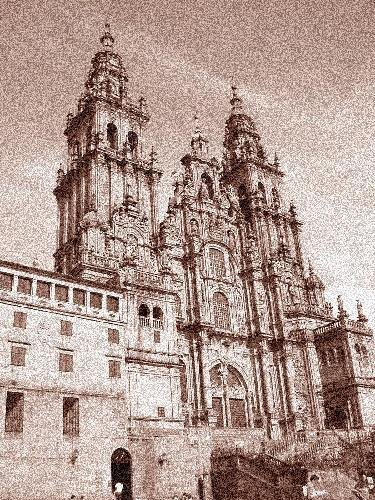 The Cathedral De Santiago De Compostela