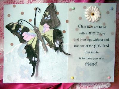 friendship butterfly wishes