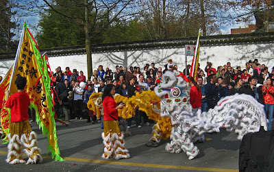 Chinese New Year Parade events