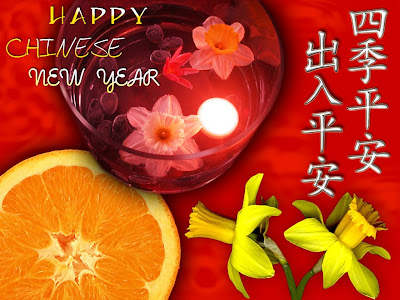Chinese New Year Symbol Cards