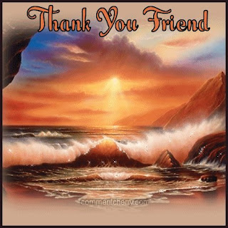 Thank You Friend Greeting Cards