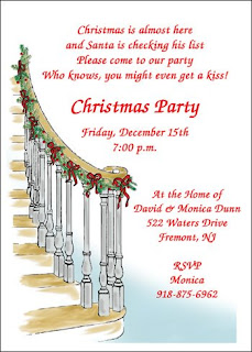 christmas party invitation cards free christmas party invitations