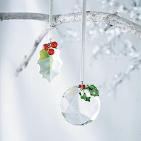 Christmas Tree Crystal Ornaments