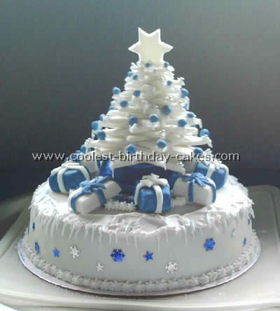 Christmas Birthday Cake Picture