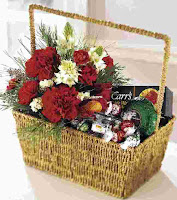 Christmas Flower Baskets