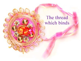 Virtual Rakhi Thread Card