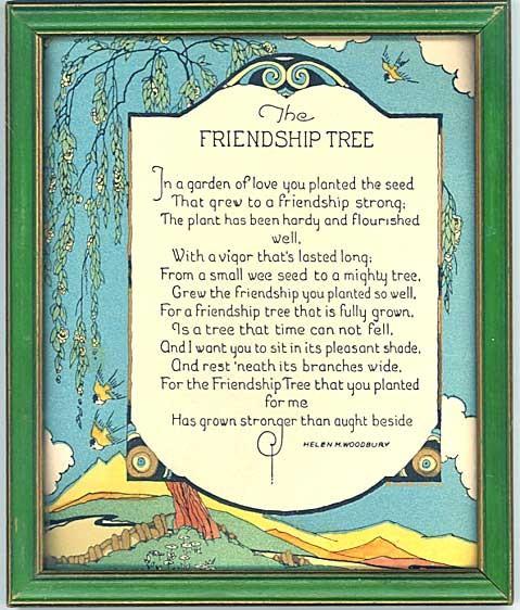 Friendship Cards Vintage Friendship Cards