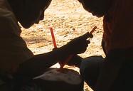 Minum Kelapa Muda | Lokasi: Ngrayun