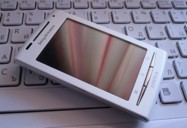 Sony Ericsson XPERIA X8 3D View