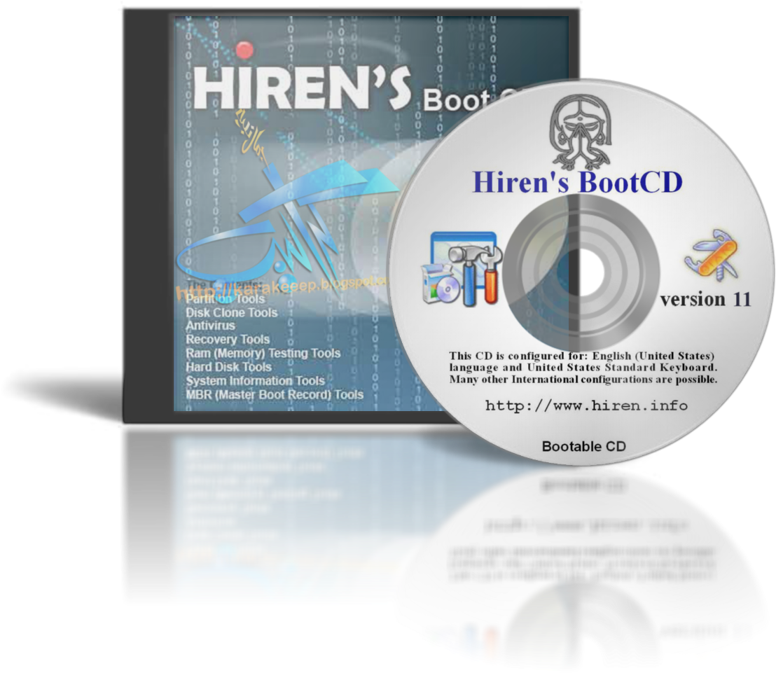 Hiren boot cd 11.0 latest version