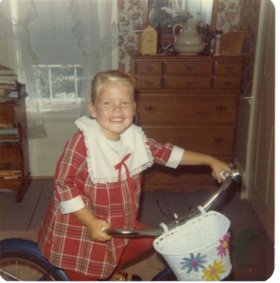 "Julie""s First Bike 1973"