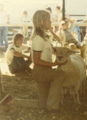 Julie and Mandy, Marshfield Fair 1980