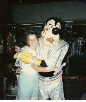 Julie and Goofy