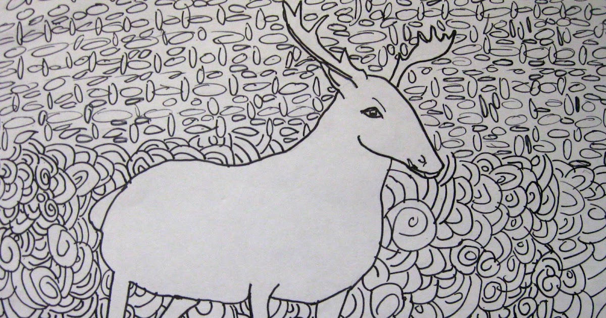 Contour Line Drawing Animal : Contour line drawing animal imgkid the image