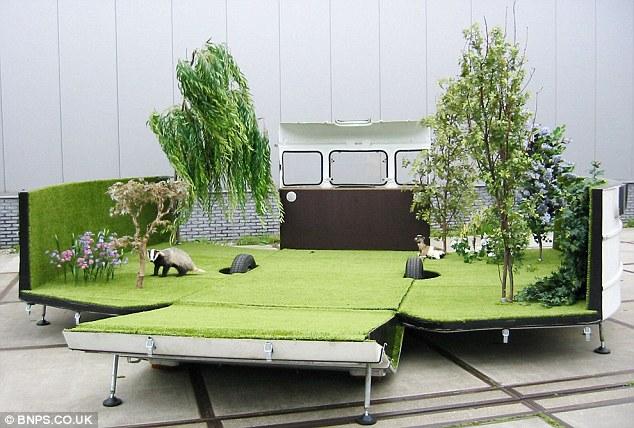 grama sintetica para jardim em curitiba:Caravans What Do Look Like