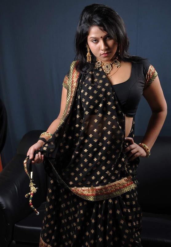 Actress Jyothi Hot Masala Saree Blouse Photos Gallery cleavage