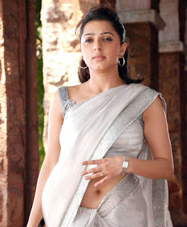Actress Bhoomika Chawla Hot Saree Navel Show Photos