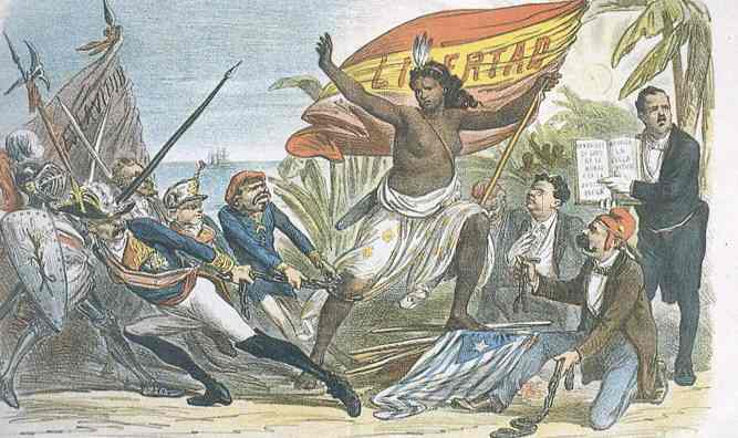 Independencia de Cuba, 1898 (Fuente: genealogiadelcheguevara.blogspot.com)